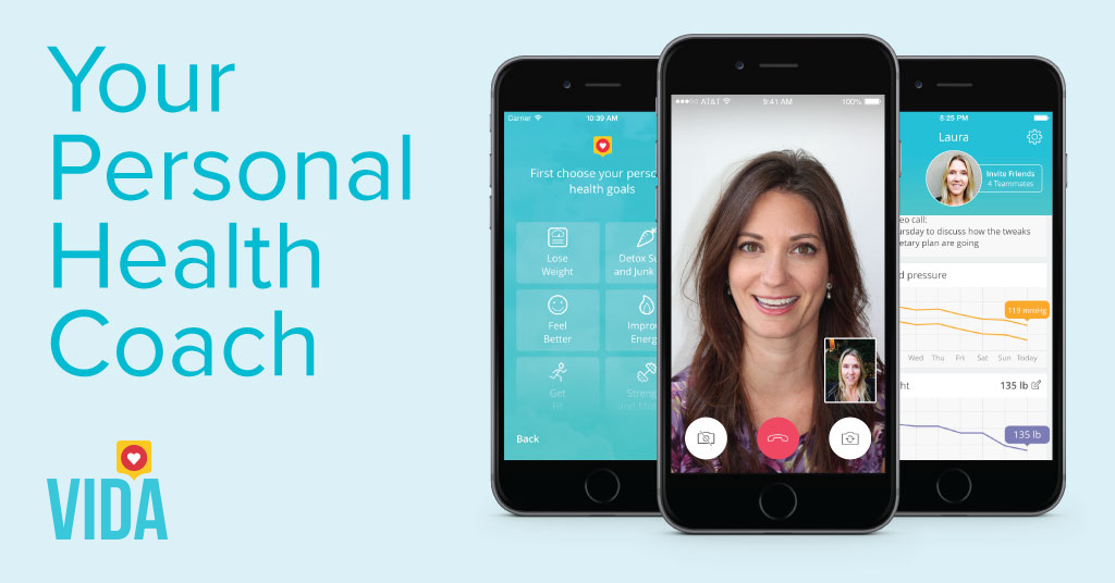 Real health coaches in your pocket